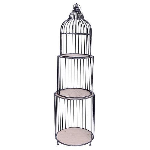 Étagères cage à oiseaux