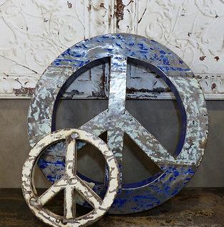 Rond décoratif métal recyclé