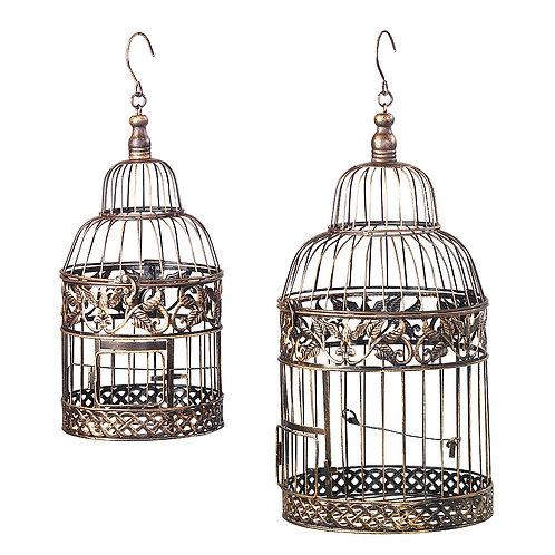 Cages à oiseau Bronze