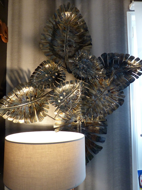 Panneau décoratif métallique