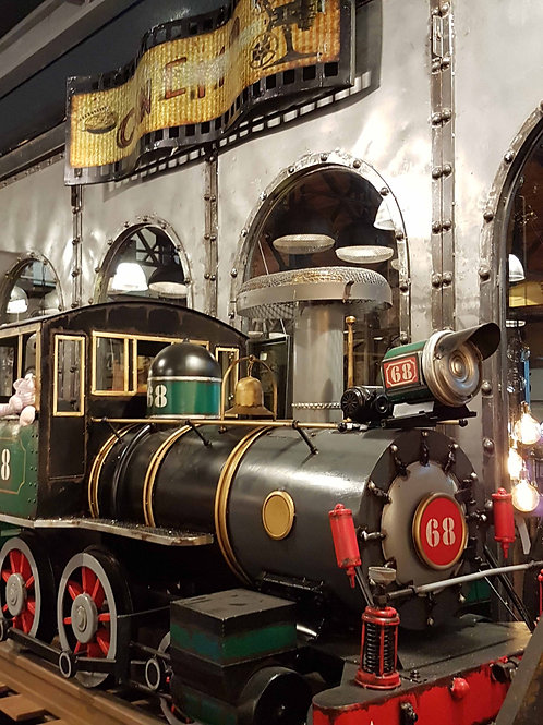 Train avec wagons - 5.3 Mètre