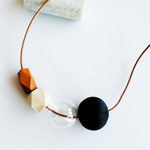 Mixed Necklace_Black