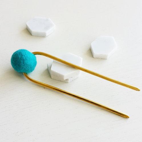 Blue Bun Pin_TALL