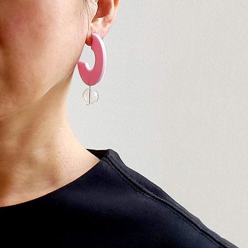 Open Ring Earrings_pk