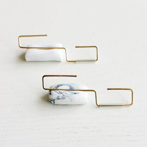 Square Roller Earrings
