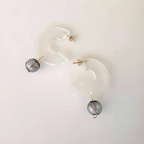Open Ring Earrings_clear
