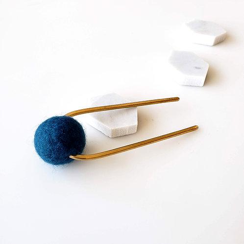 Deep Blue Bun Pin_SHORT