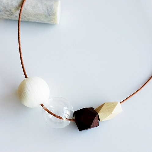 Mixed Necklace_White