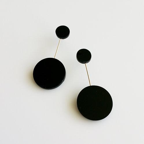 Circle SL Earrings_BW