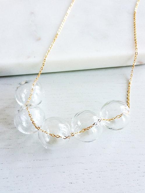 Large Bubbles Necklace