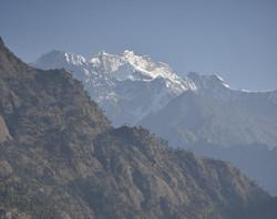 Mt. Ganesh Nepal Tibet Border
