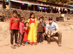 mountain village children