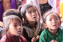 kids hear Ptr Lawrence preaching