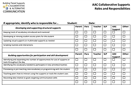 aac roles form