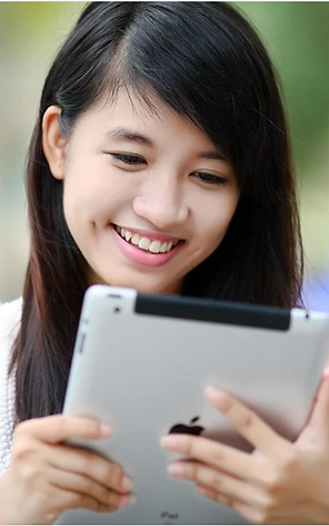 girl with tablet from Pixabay