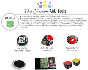 image of our favorite aac tools