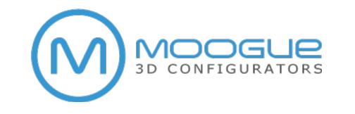 Moogue 3D configurators