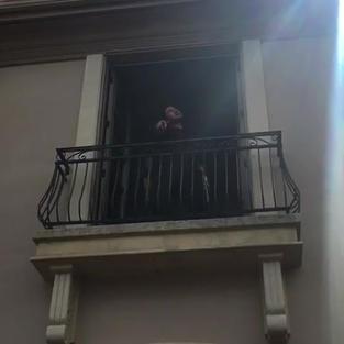 SINGING AT CUSTOMER'S HOME