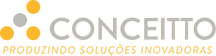 Conceitto-Logo com Frase amarelo e cinza