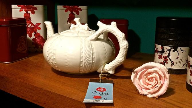 Vamos tomar um chá?