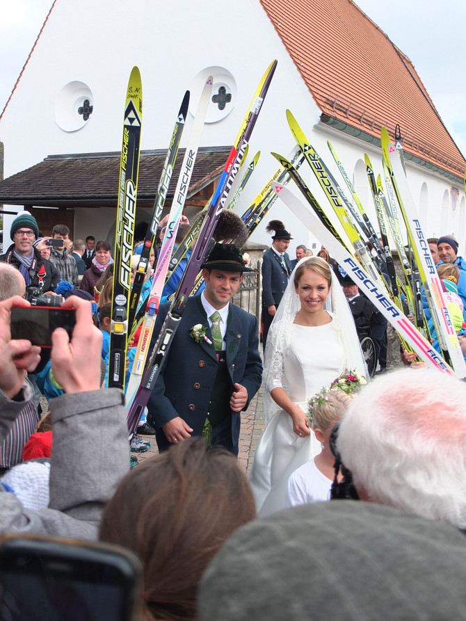 Um casamento na Bavária