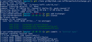 Installing and Configuring Posh-Git with PowerShell