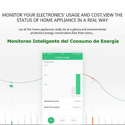 Orvibo Toma AC Inteligente WiFi con Monitor de Consumo