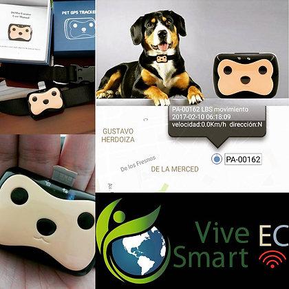 Localizador SIM+GPS para Mascota