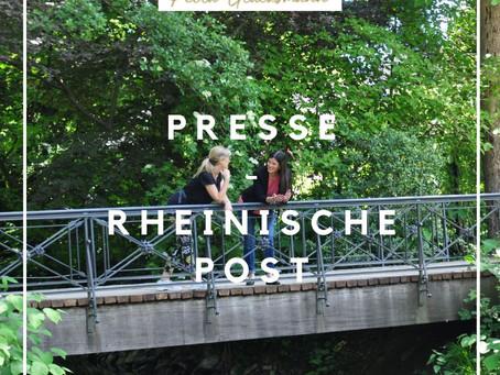 Der Wald wird zum Therapieraum! Artikel in der Rheinische Post vom 5. Juni 2020