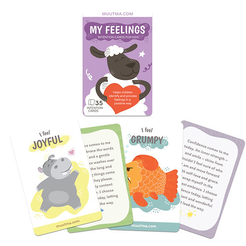 My Feelings | Positive Intention Flashcards