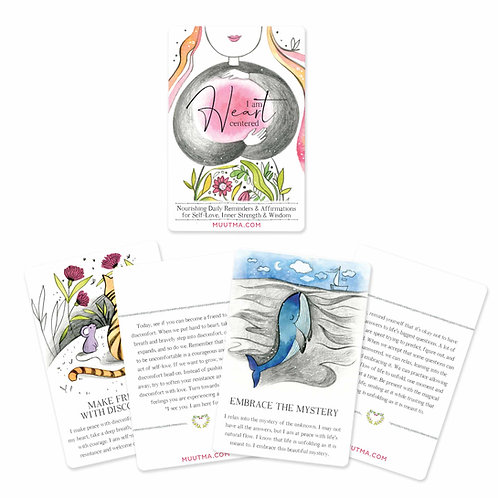 I am Heart-Centered   Nourishing Daily Reminders & Affirmations for Self-Love