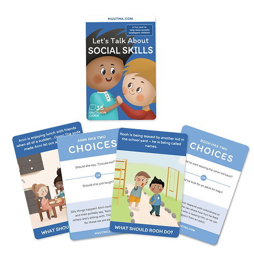 Let's Talk About Social Skills Card Deck