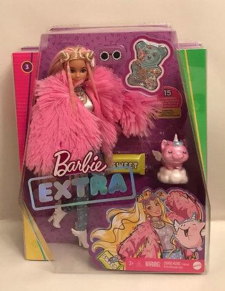 Барби Экстра №3 - Пинкалишес в розовой шубе