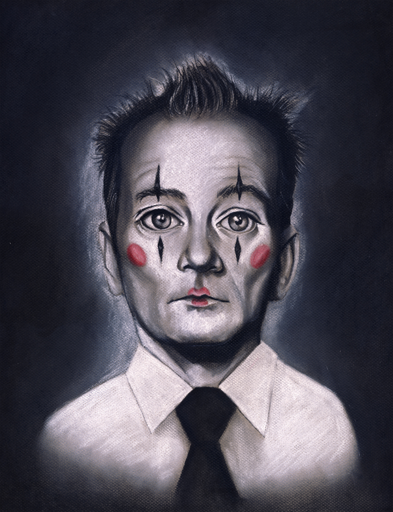 bill murray - clown