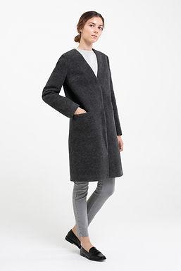 Пальто из войлока №21