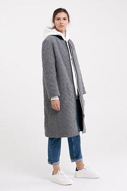 Пальто стеганное  №22