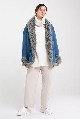 Куртка с мехом тиградо №24