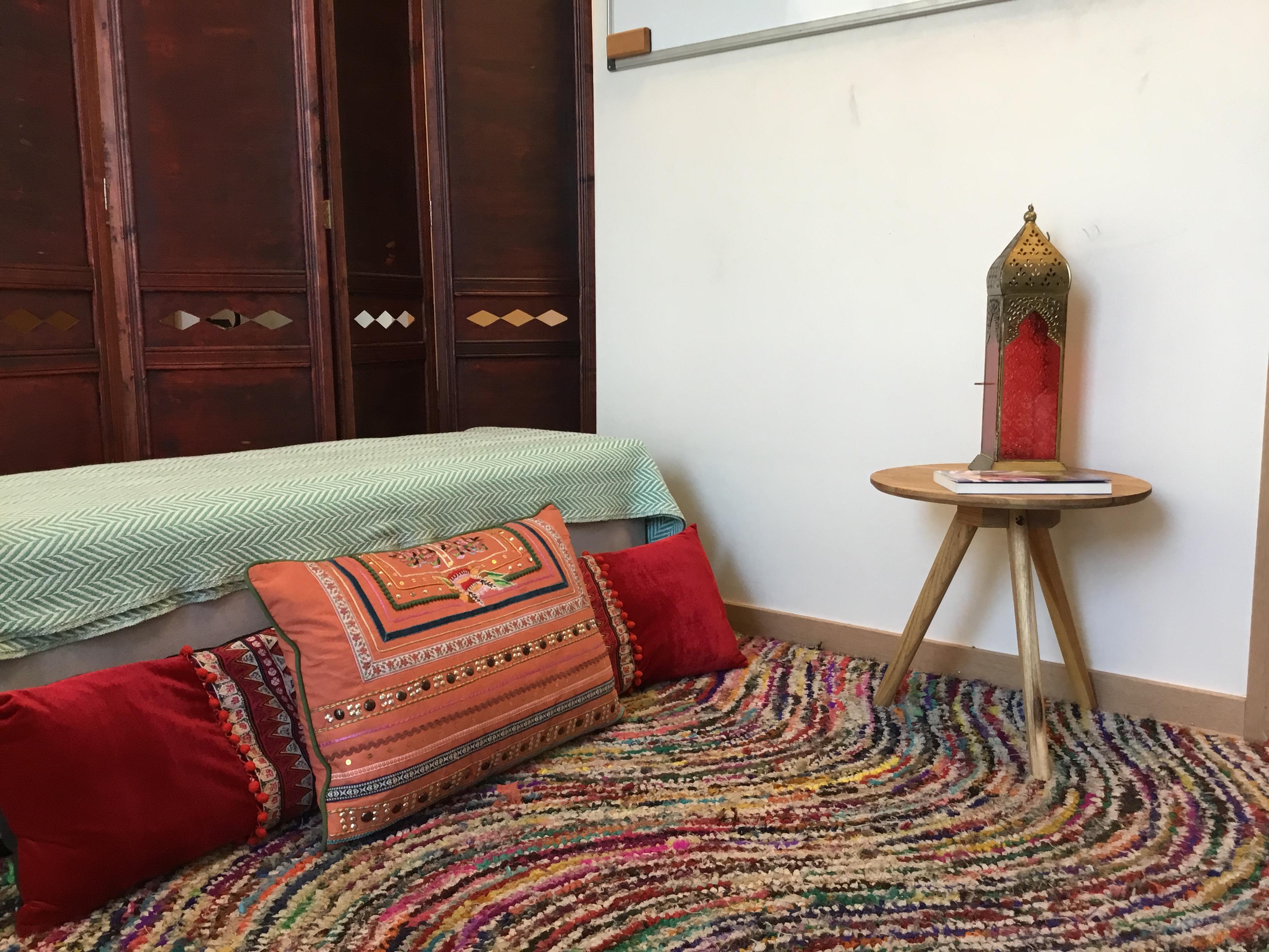 Rincón de lectura y meditación