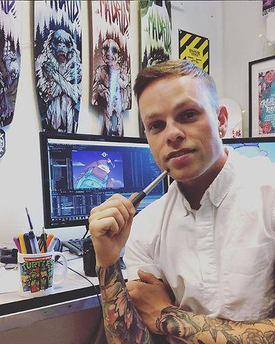 chris OVEMERY animatör och illustratör från Göteborg.