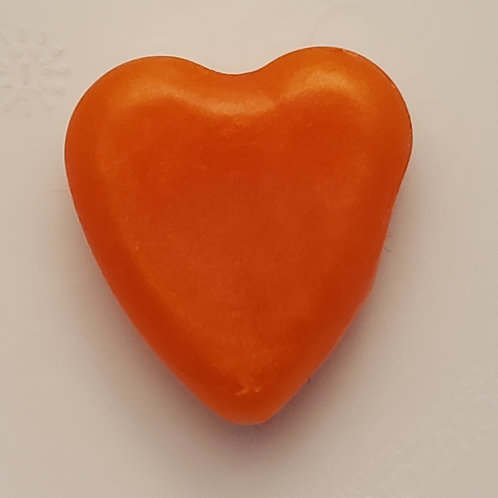 Unscented heart hand soap