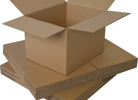 Small/Medium Strong double walled boxes (pack of 10)