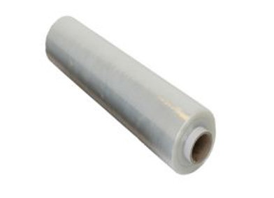 Strong clear shrink/stretch cast wrap - 17microns - 400mm x 150m - 1 roll