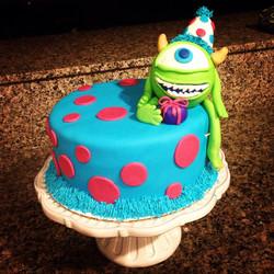 Mike birthday cake