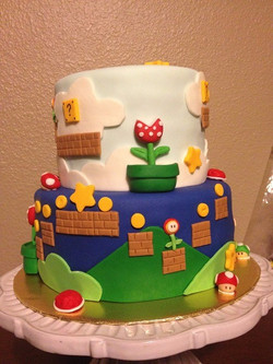 Super Mario inspired theme