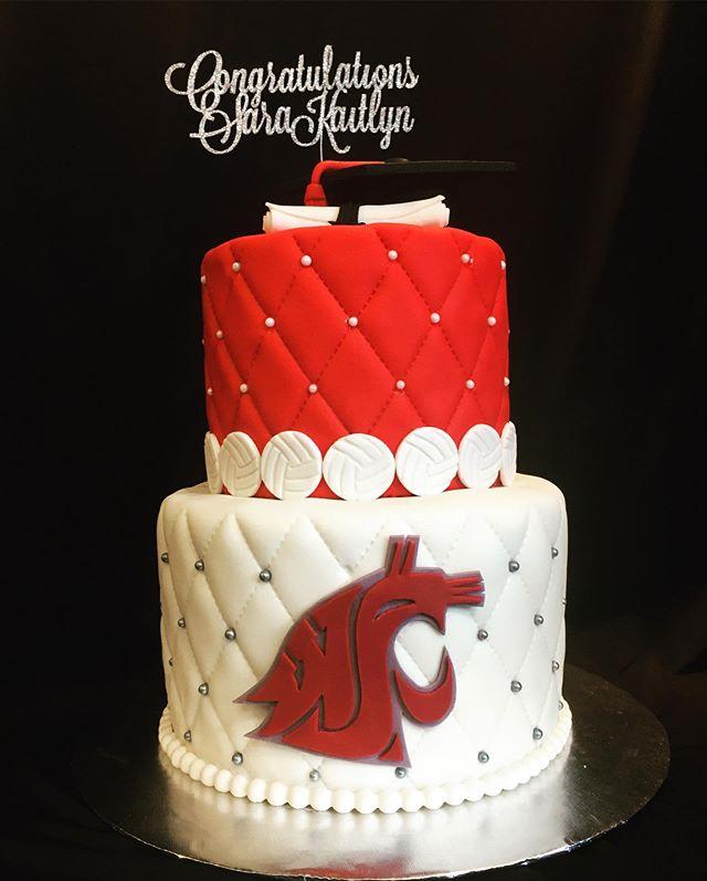 WSU graudation cake 2019
