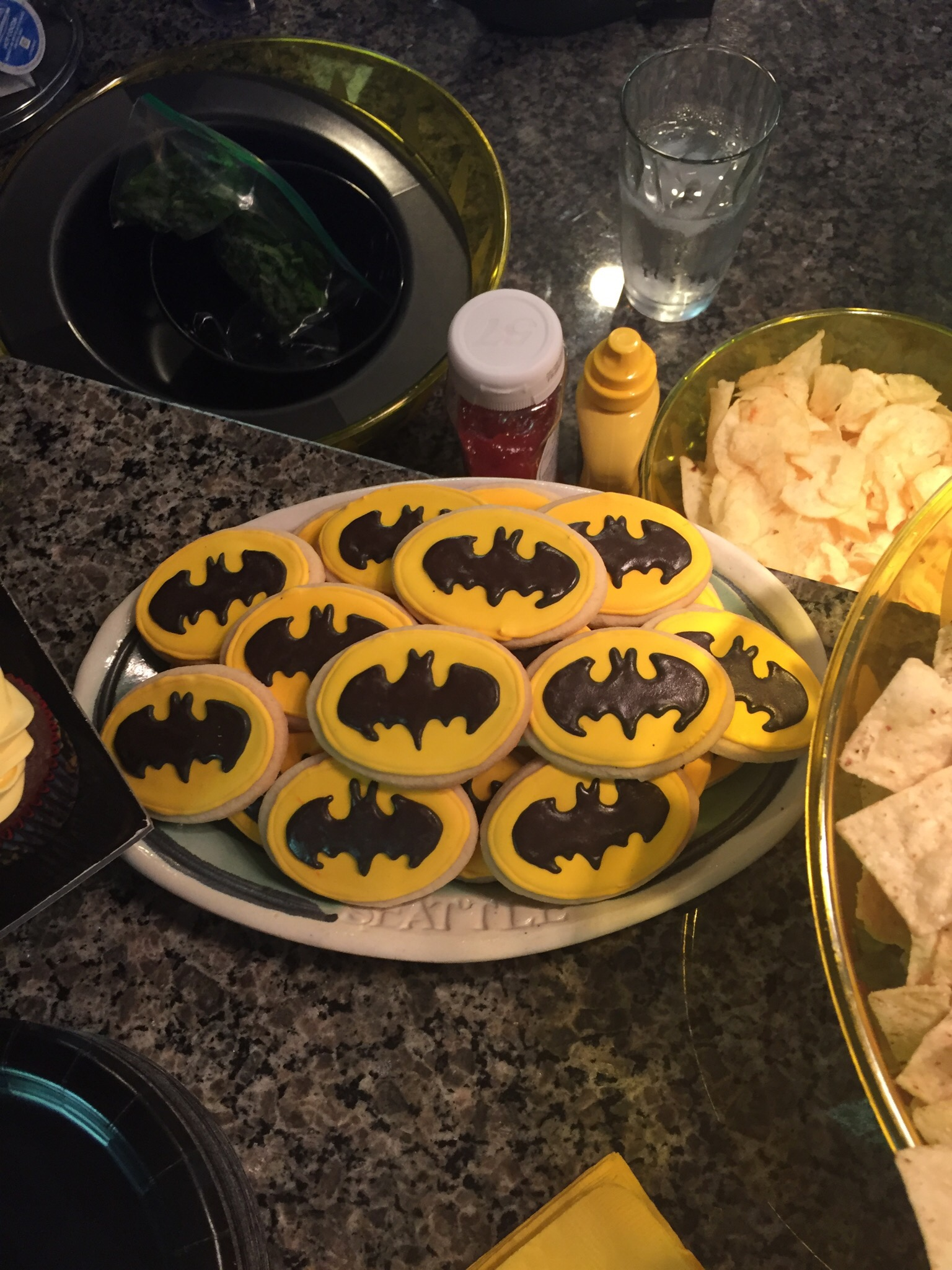 Batman cookies