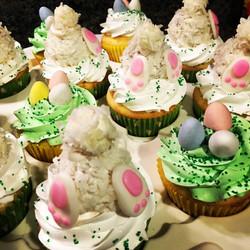 Bunny butt's cupcakes