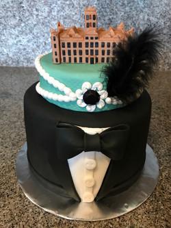 Downton Abbey Cake