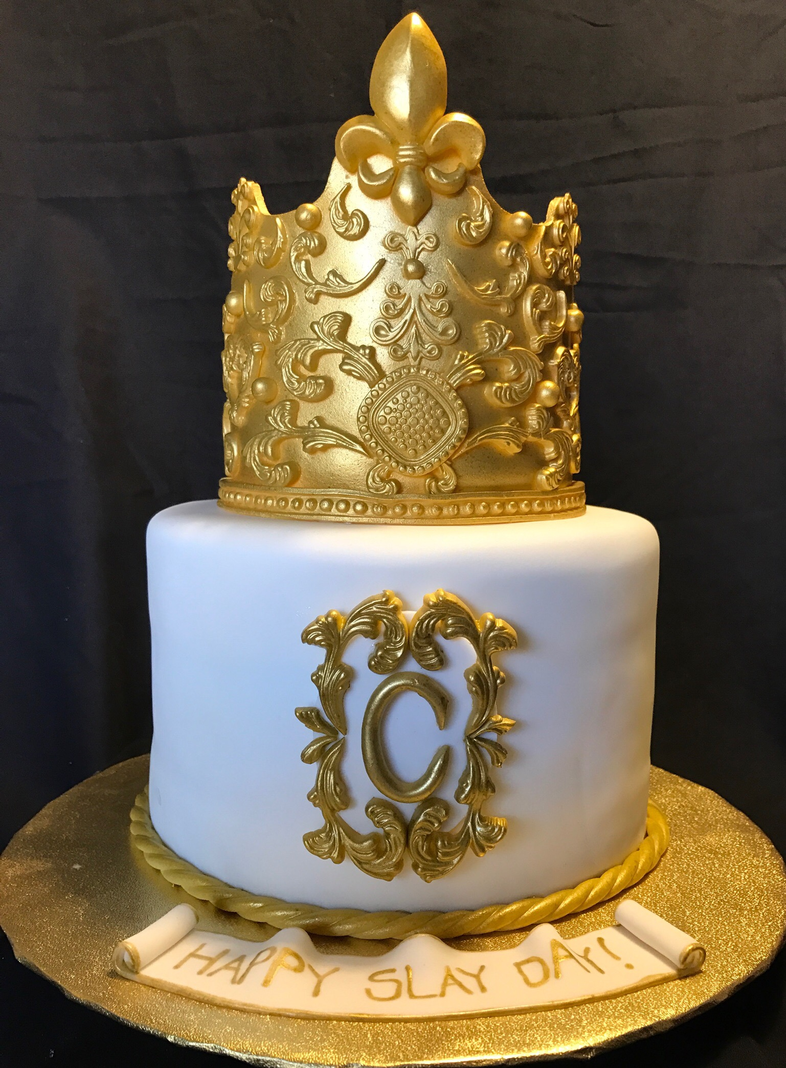 Crowned a Queen Cake