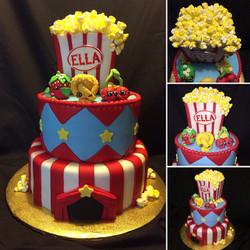 Carnival & Popcorn cake